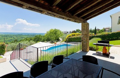Buje area - REDUCED PRICE - OPPORTUNITY!! Comfort and luxury villa in one of the most beautiful places in Istria